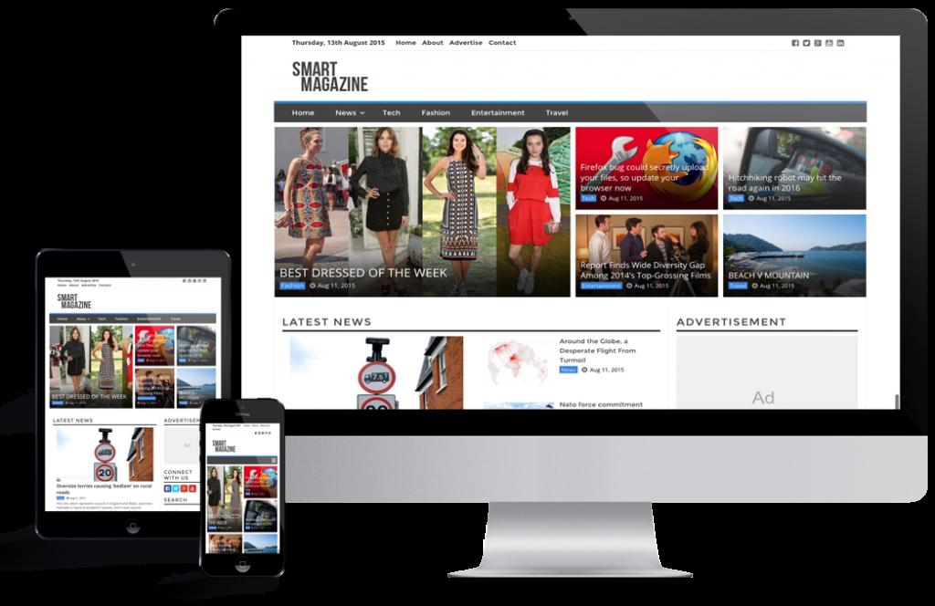 WordPress Blog and magazine themes